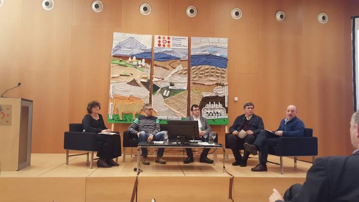 Jornada Plan de Residuos de Navarra 2017-2027