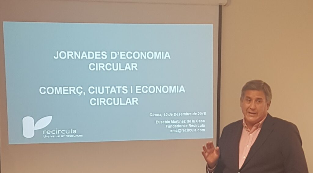 JORNADES D'ECONOMIA CIRCULAR - GIRONA - Eusebio Martinez de la Casa - 2